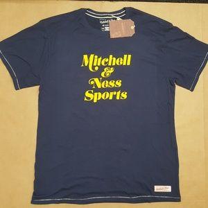 Mitchell & Ness Short Sleeve T-Shirt Men Sz 3XL